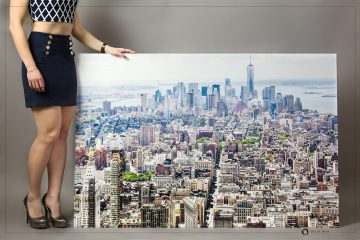 Inspired living with metal prints for walls in your home and office