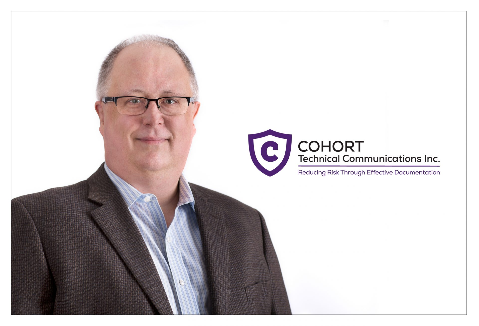 Business headshot of Calgary technical writer