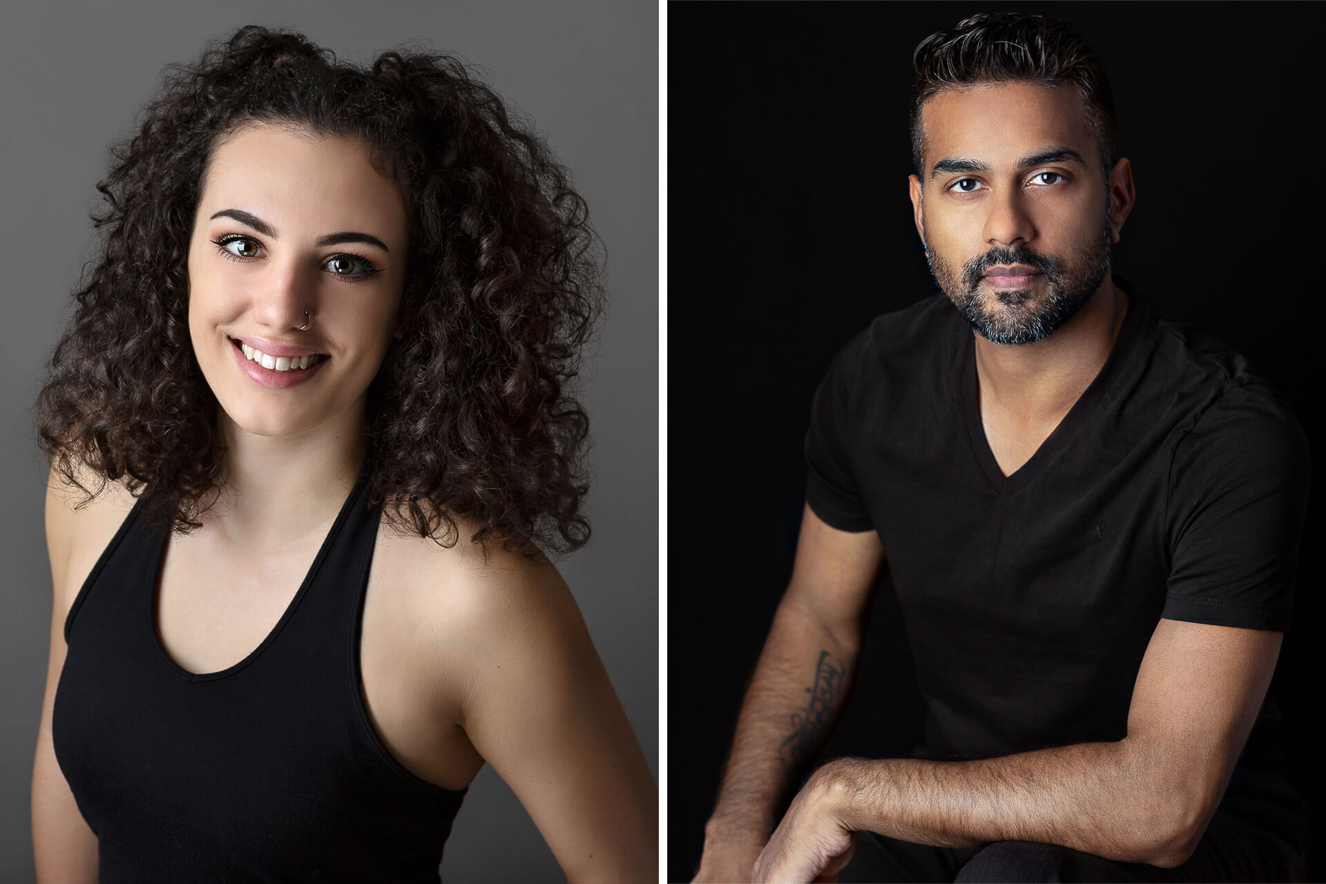 Headshots for actors and dancers in Calgary